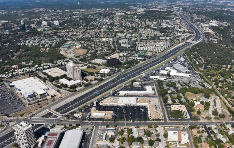 Grandview Shopping Center aerial