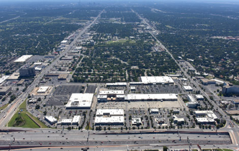 Park North Shopping Center aerial